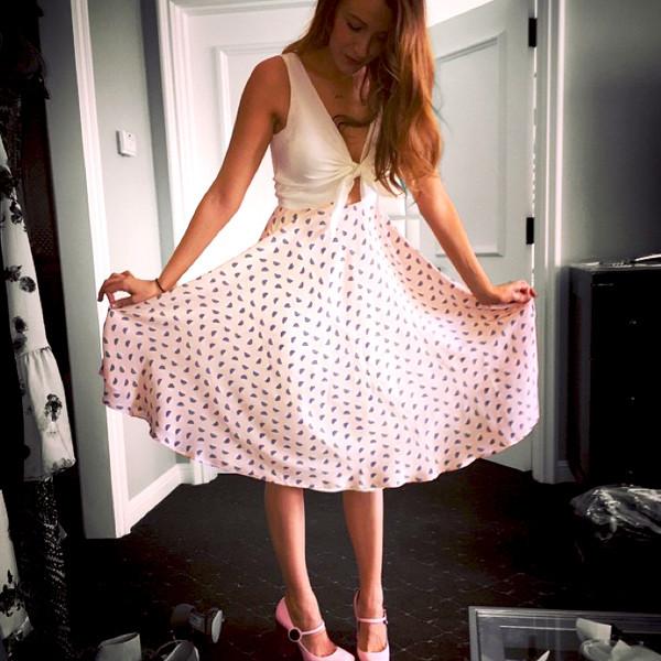 65fd44fdcdce Blake-Lively-Preserve-Dress-Instagram.