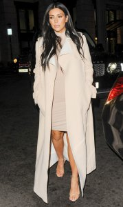 Kim-Covered-Her-Turtleneck-Mini-Structured-Coat